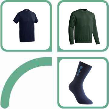 Truien, shirts, accessoires